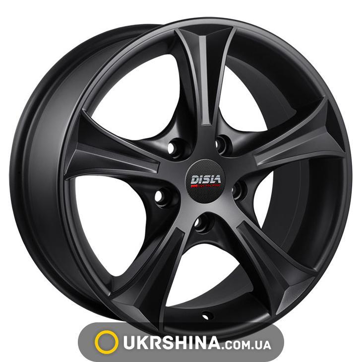 Литые диски Disla Luxury 406 W6 R14 PCD5x100 ET37 DIA67.1 BM