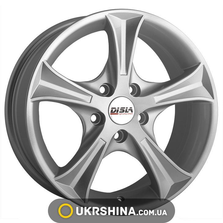 Литые диски Disla Luxury 406 W6 R14 PCD5x100 ET37 DIA67.1 S