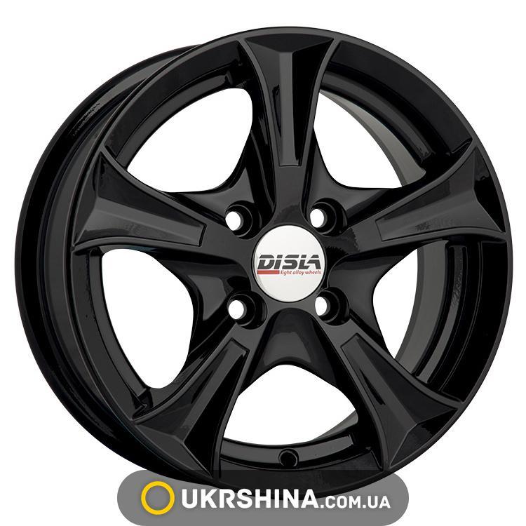 Литые диски Disla Luxury 406 W6 R14 PCD4x100 ET37 DIA67.1 B