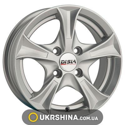 Литые диски Disla Luxury 406 W6 R14 PCD4x114.3 ET37 DIA67.1 BD