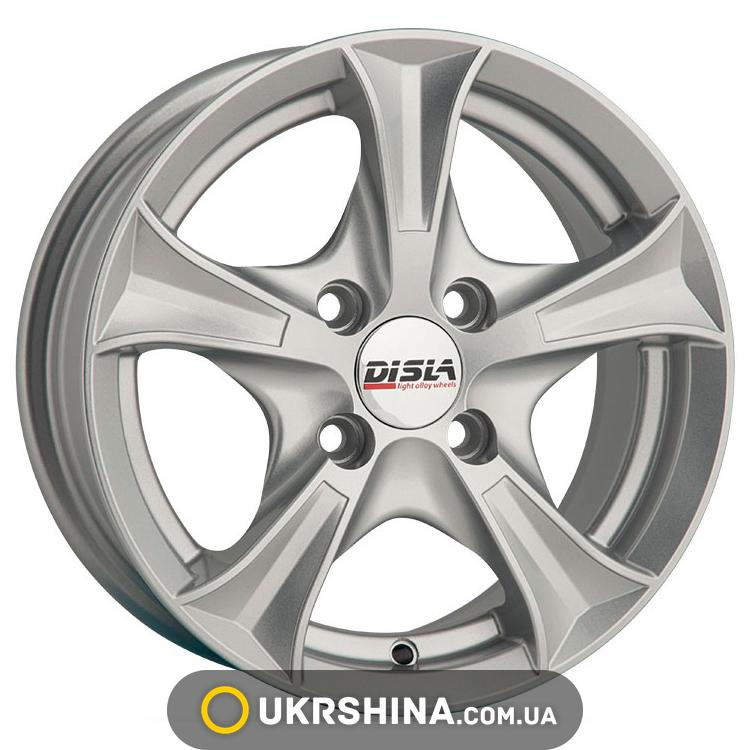 Литые диски Disla Luxury 406 W6 R14 PCD5x100 ET37 DIA57.1 GM