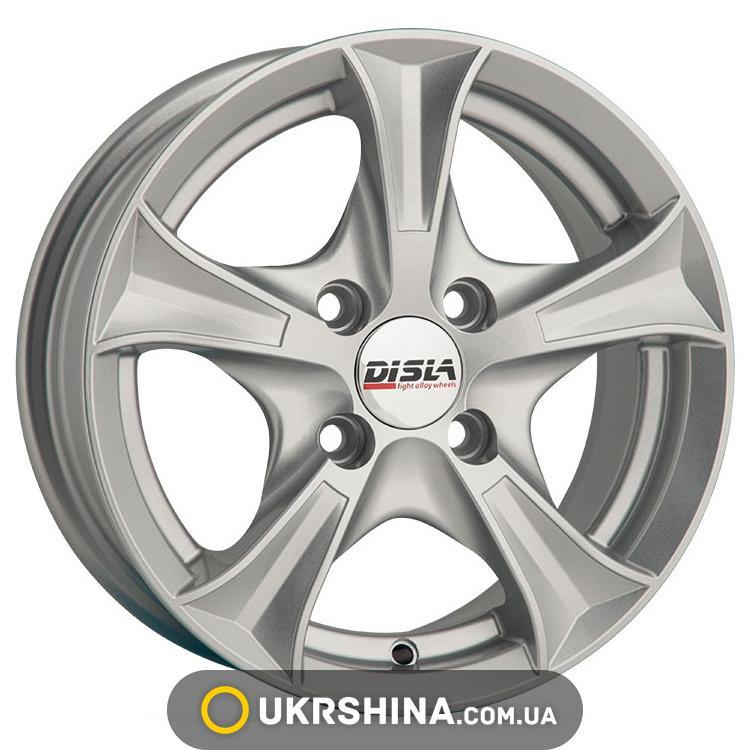 Литые диски Disla Luxury 406 W6 R14 PCD4x100 ET37 DIA67.1 S