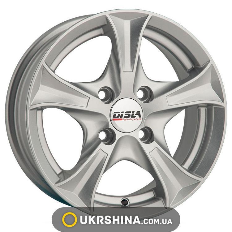 Литые диски Disla Luxury 506 W6.5 R15 PCD4x114.3 ET35 DIA67.1 S
