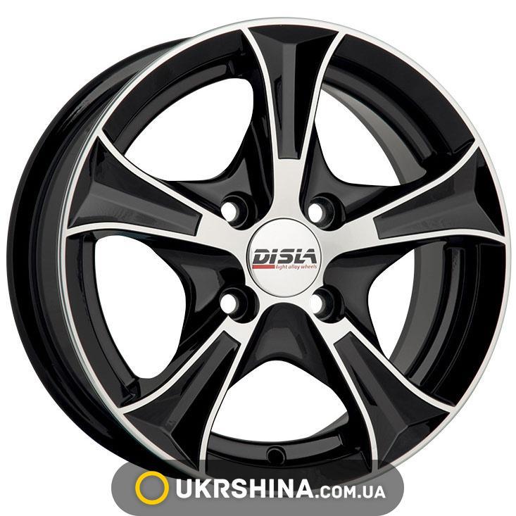 Литые диски Disla Luxury 606 W7 R16 PCD4x114.3 ET38 DIA67.1 BD