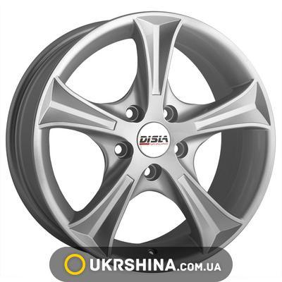 Литые диски Disla Luxury 606 W7 R16 PCD5x100 ET38 DIA57.1 S