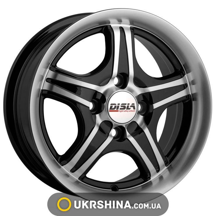 Литые диски Disla Star 311 W5.5 R13 PCD4x100 ET30 DIA67.1 BD