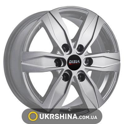 Литые диски Disla Vanline 6 628 W7 R16 PCD6x130 ET55 DIA84.1 S