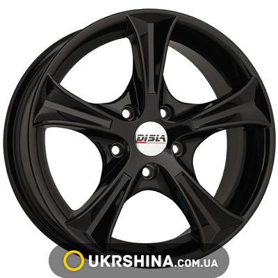 Литые диски Disla Luxury 406 W6 R14 PCD5x100 ET37 DIA57.1 B