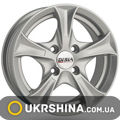Литые диски Disla Luxury 406 W6 R14 PCD4x114.3 ET37 DIA67.1 S