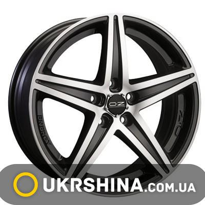 Литые диски OZ Racing Energy W7.5 R16 PCD5x112 ET35 DIA75 black diamond