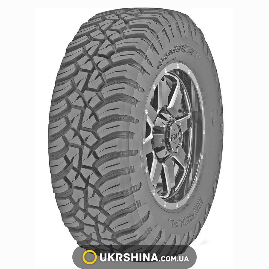 Всесезонные шины General Tire Grabber X3 M/T 265/75 R16 119Q