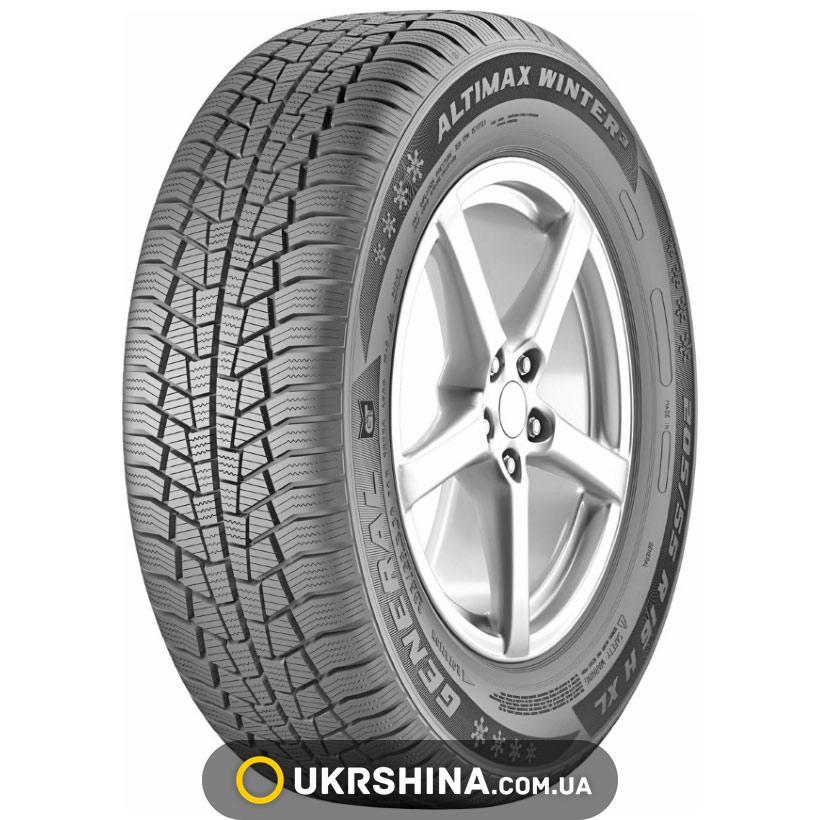 Зимние шины General Tire Altimax Winter 3 165/70 R14 81T