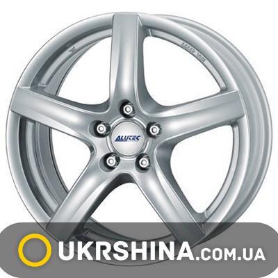 Литые диски Alutec Grip W6 R15 PCD5x114.3 ET45 DIA70.1 polar silver