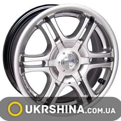 Литые диски Racing Wheels H-104 W6 R14 PCD4x100 ET38 DIA73.1 HS