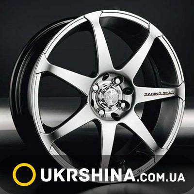 Литые диски Racing Wheels H-117 W6.5 R15 PCD5x114.3 ET45 DIA67.1 HS