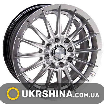 Литые диски Racing Wheels H-155 HS W6 R14 PCD4x100 ET35 DIA67.1