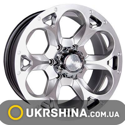 Литые диски Racing Wheels H-276 BK-FP W7 R15 PCD5x139.7 ET13 DIA108.2