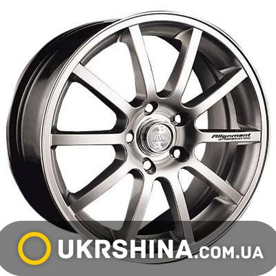 Литые диски Racing Wheels H-286 DDN-F/P W6.5 R16 PCD5x114.3 ET45 DIA67.1