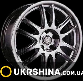 Литые диски Racing Wheels H-287 W6 R15 PCD5x114.3 ET45 DIA67.1 GM-F/P