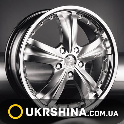 Литые диски Racing Wheels H-302 DB/ST W7 R16 PCD5x114.3 ET40 DIA73.1