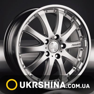 Литые диски Racing Wheels H-332 chrome W8 R18 PCD5x112 ET45 DIA73.1
