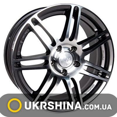 Литые диски Racing Wheels H-349 GM/FP W7.5 R17 PCD5x110 ET37 DIA65.1