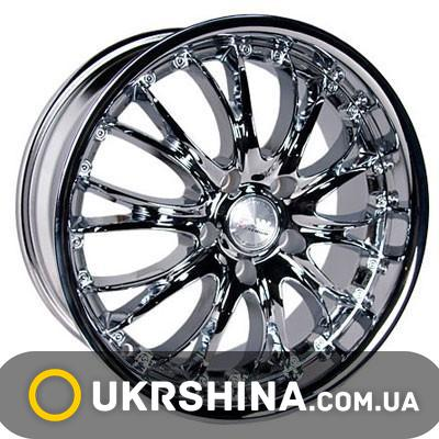Литые диски Racing Wheels H-362 chrome W8 R18 PCD5x120 ET45 DIA74.1
