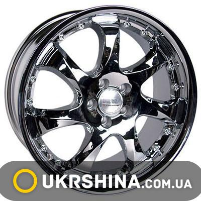 Литые диски Racing Wheels H-371 W7.5 R17 PCD5x100 ET45 DIA73.1