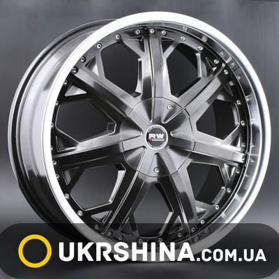 Литые диски Racing Wheels H-378 chrome W8.5 R20 PCD5x112 ET45 DIA73.1