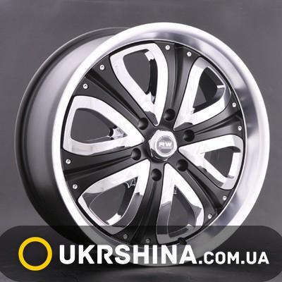 Литые диски Racing Wheels H-383 BK/CW-P W8.5 R20 PCD6x139.7 ET15