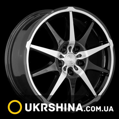 Литые диски Racing Wheels H-410 BKFP W7 R17 PCD5x100 ET40 DIA73.1