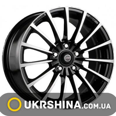 Литые диски Racing Wheels H-429 BK-F/P W7 R16 PCD5x100 ET40 DIA67.1