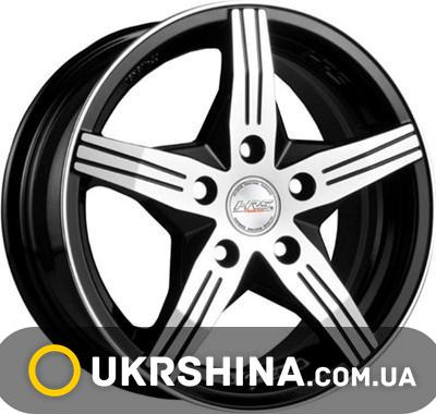 Литые диски Racing Wheels H-458 BK-F/P W7 R16 PCD5x100 ET40 DIA73.1
