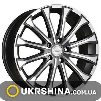Литые диски Racing Wheels H-461 BK-F/P W7 R17 PCD5x108 ET45 DIA67.1