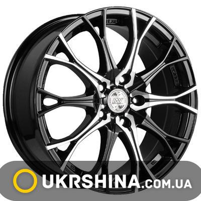 Литые диски Racing Wheels H-530 DDN-F/P W7 R16 PCD5x100 ET40 DIA73.1