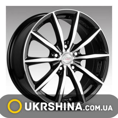Литые диски Racing Wheels H-536 W6.5 R15 PCD5x114.3 ET40 DIA67.1 black