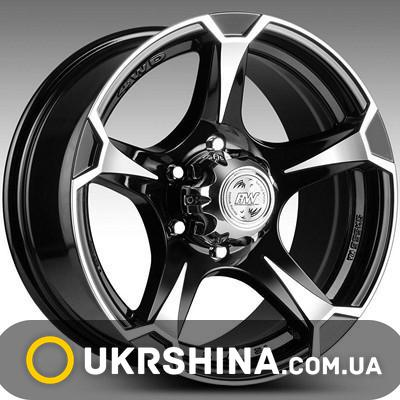 Литые диски Racing Wheels H-547 DDN-F/P W8 R17 PCD6x139.7 ET20 DIA110.5