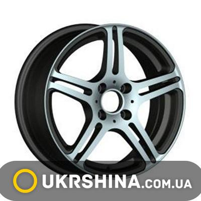 Литые диски Racing Wheels H-568 W6.5 R15 PCD4x100 ET38 DIA67.1 BK-F/P