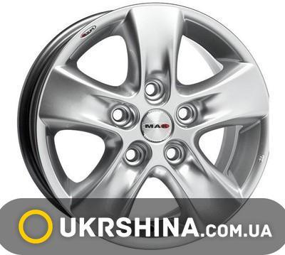 Литые диски Mak HD W6.5 R16 PCD5x130 ET35 DIA84.1 silver