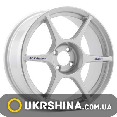 Литые диски Kosei K1 Racing W7 R15 PCD4x100 ET38 DIA73.1 silver