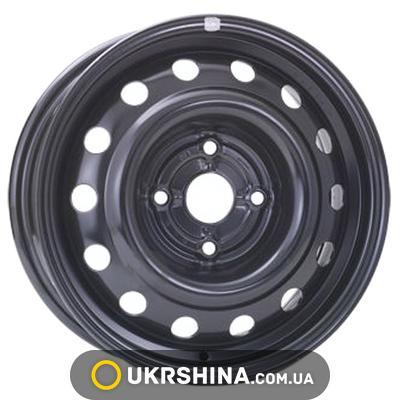 Стальные диски ALST (KFZ) 6565 Chevrolet/Daewoo W5.5 R14 PCD4x100 ET45 DIA56.5 black
