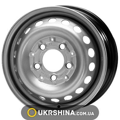 Стальные диски ALST (KFZ) 8555 Mercedes Benz W6 R15 PCD5x130 ET75 DIA84.1 silver