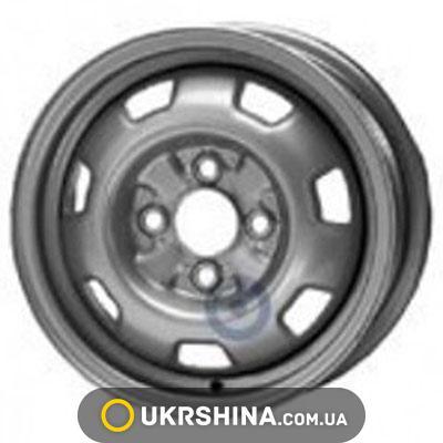 Стальные диски ALST (KFZ) 3940 Nissan W5.5 R13 PCD4x100 ET40 DIA59 silver