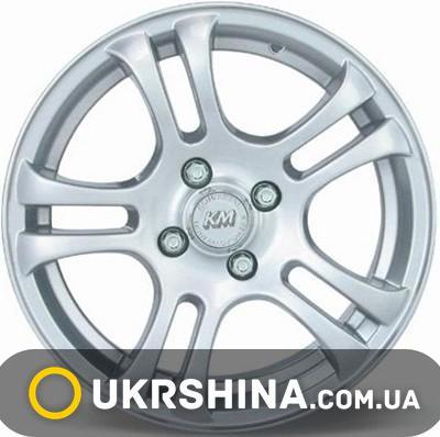 Литые диски Kormetal KM 137 Storm W7 R17 PCD4x108 ET37 DIA65.1 silver