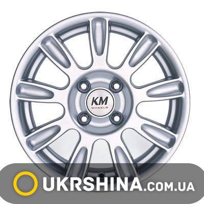 Литые диски Kormetal KM 424 Gallant HB W6 R14 PCD4x98 ET34 DIA67.1