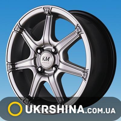 Литые диски Kormetal KM 675 Lotus W6.5 R15 PCD4x114.3 ET42 DIA67.1 silver
