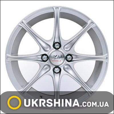 Литые диски Kormetal KM 724 W6 R14 PCD4x100 ET35 DIA67.1 silver