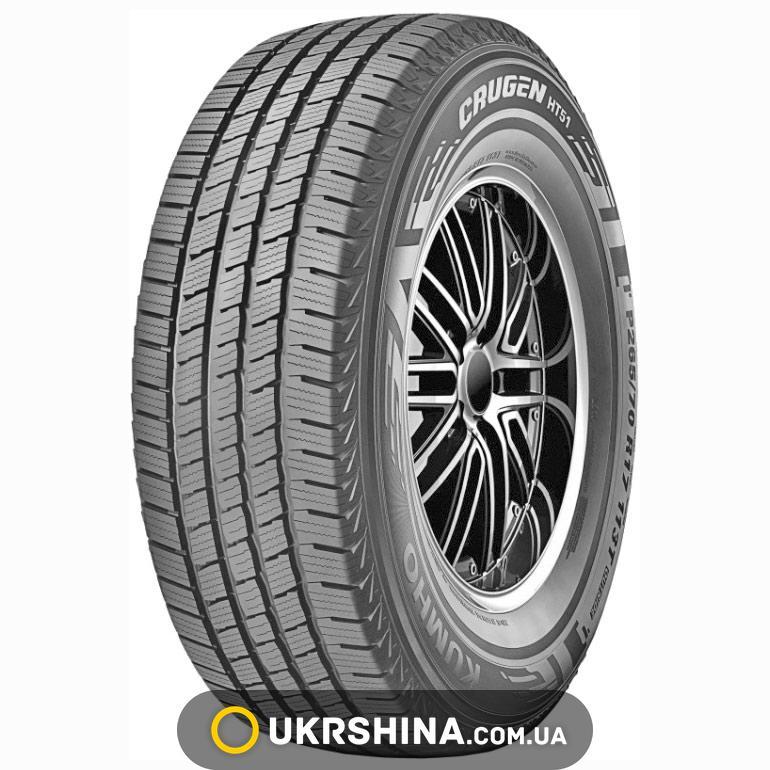 Всесезонные шины Kumho Crugen HT51 255/70 R16 111T