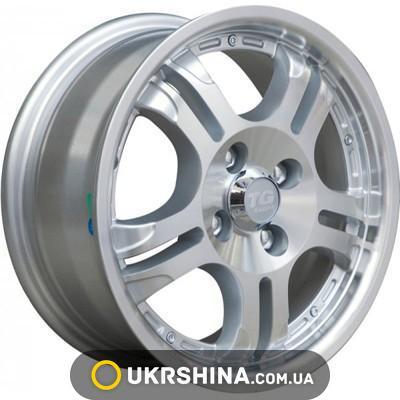 Литые диски TG Racing LYN 001 silver W5.5 R13 PCD4x98 ET38 DIA58.5