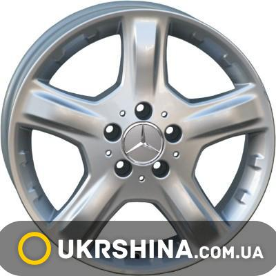 Литые диски For Wheels ME 419f (Mercedes) silver W8.5 R20 PCD5x112 ET60 DIA66.6